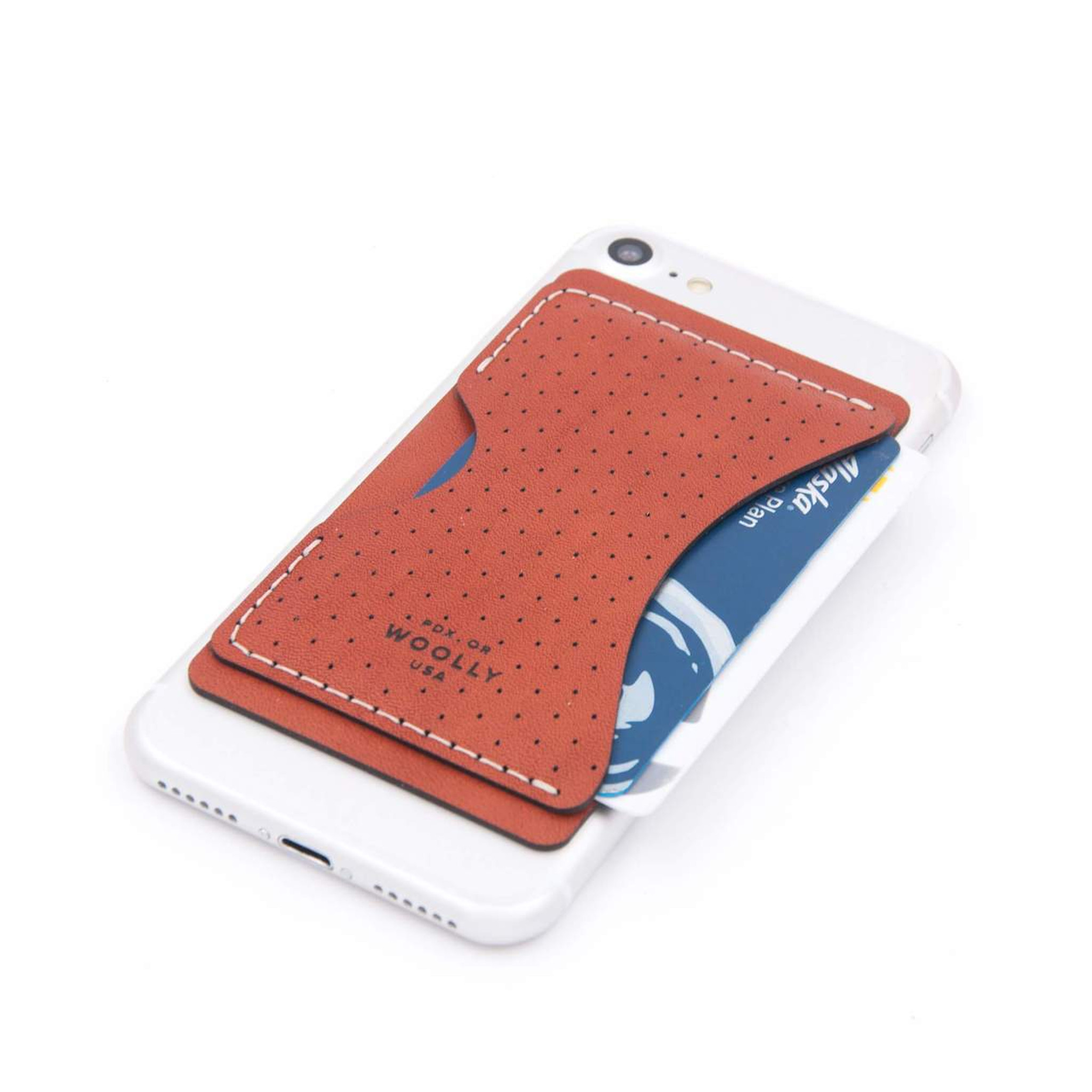 Woolly Stick-On Wallet