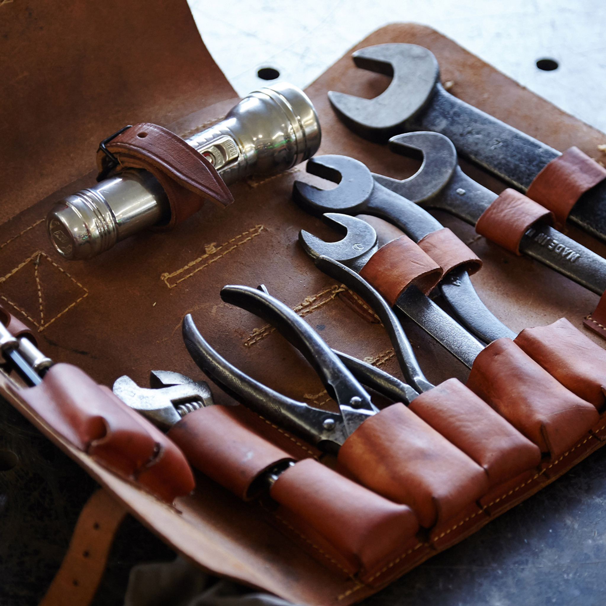 West River Leather Tool Case