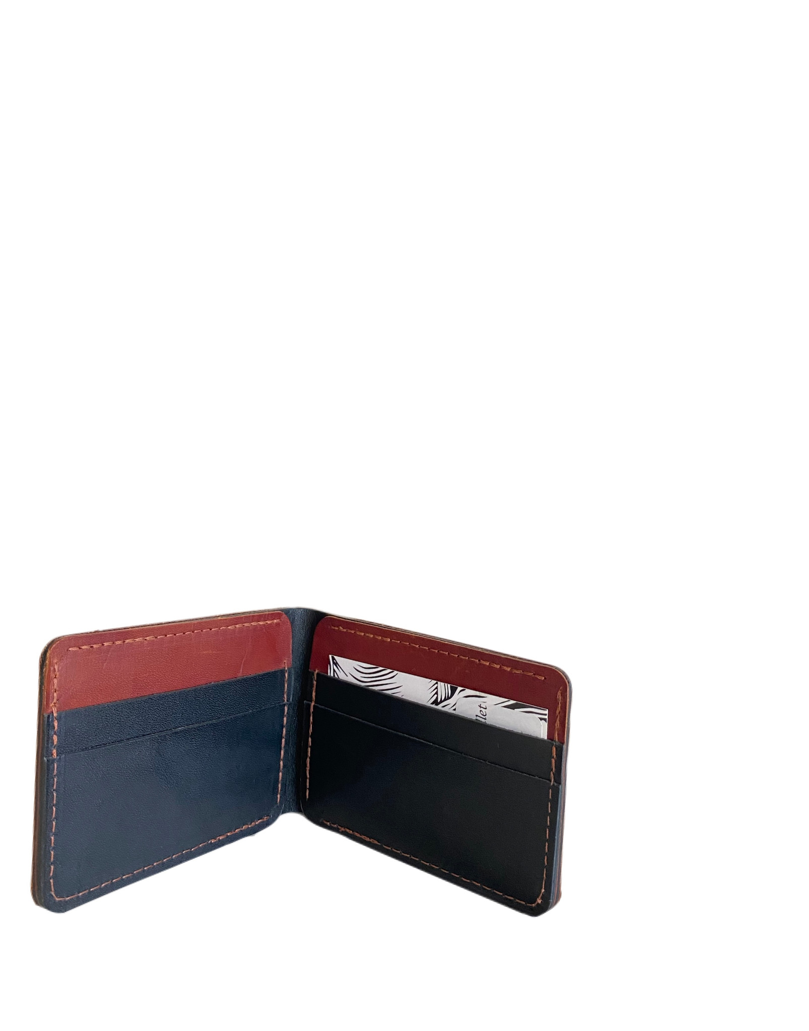 Hold Supply Leather Bi-fold Wallet