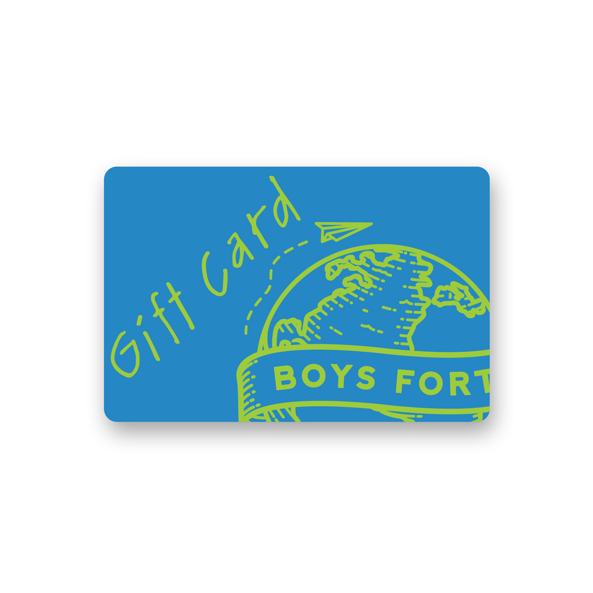 Boys Fort Gift Card