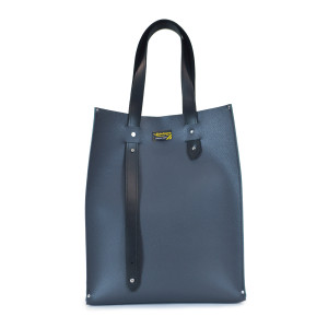 Beebe Co. Grey Leather Bag
