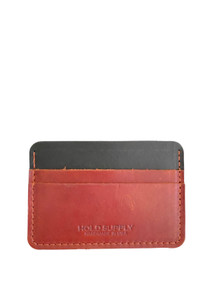 Hold Supply Leather Card Holder