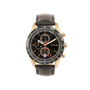Havok Racer Chronograph Rose Gold Watch 42mm