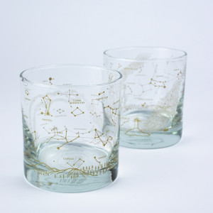 Star Chart Lowball Glass Set