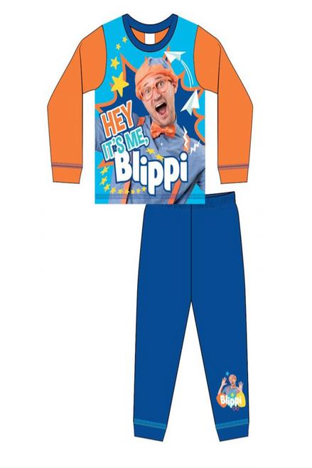 Hey It's Me Blippi  Children's Pj'S