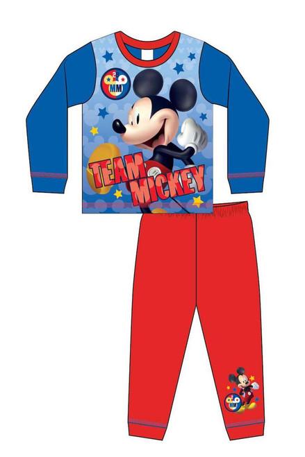 Team Mickey Children's   Pj'S