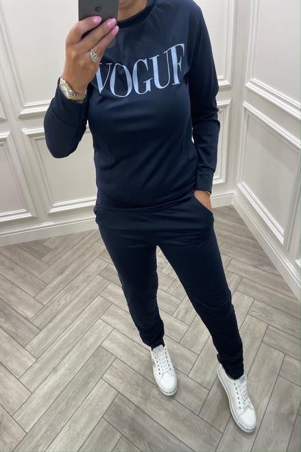 Navy Vogue Loungesuit