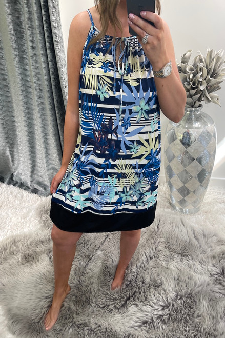 Navy Vanessa Tunic Dress