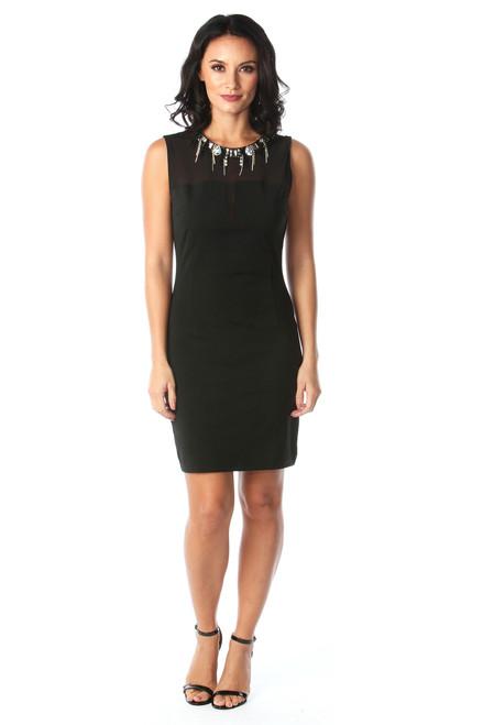 Lux Hellen Black Diamond Bodycon Dress