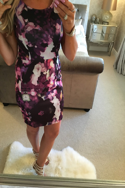 Millen Floral Bodycon Dress
