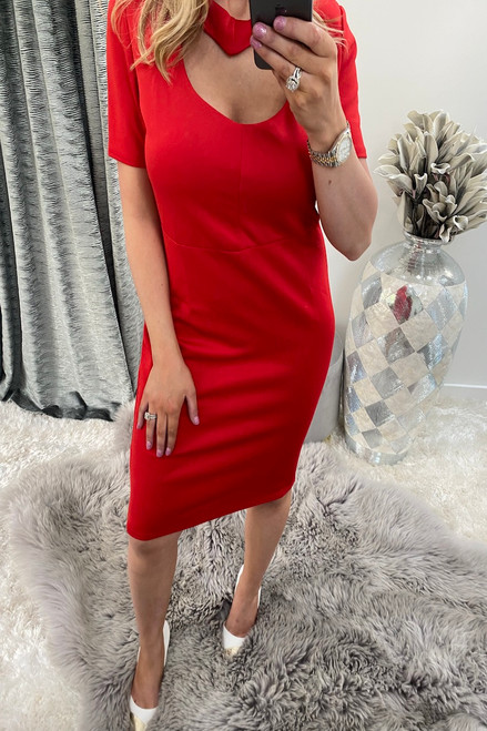 Red Heart Valentines Bodycon