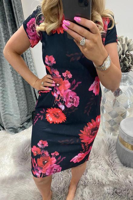 Pink Lolita Midi Dress