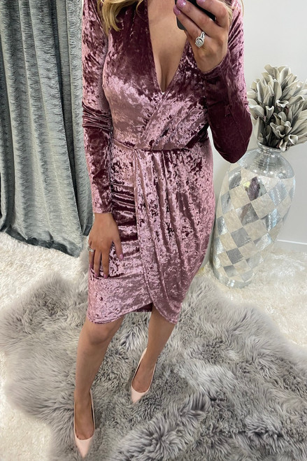 Pink Velvet Sorento Bodycon Dress