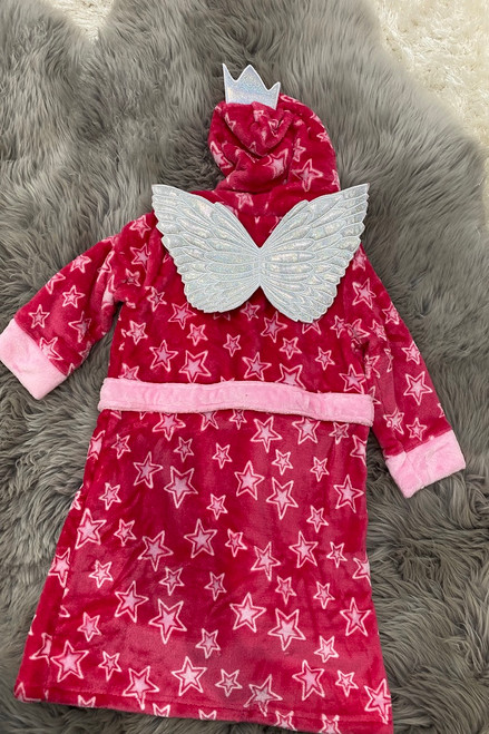 Deluxe Children's Pink Fairy Princess Dressing Gown