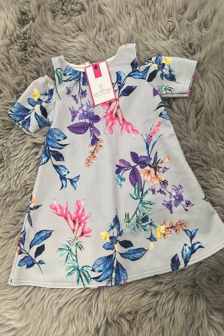 Children's Madeline Cold Shoulder  Dress