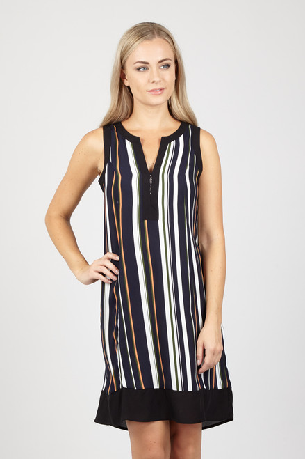 Shira Stripe Smock Dress