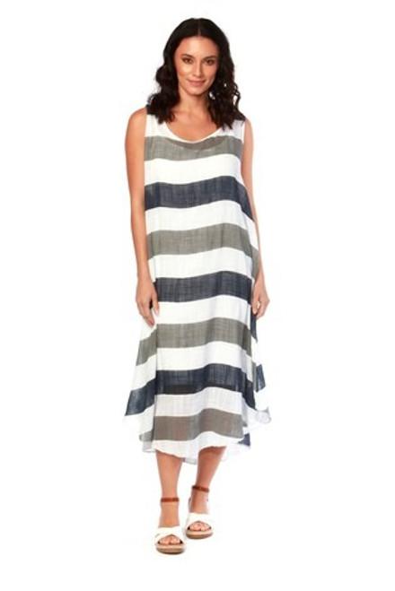 Carolina Maxi Stripe Dress