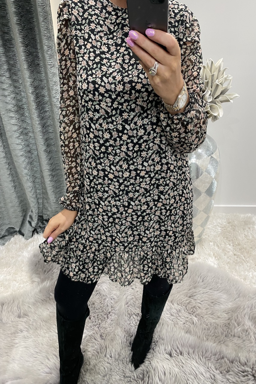 Peggy Floral Tunic Dress