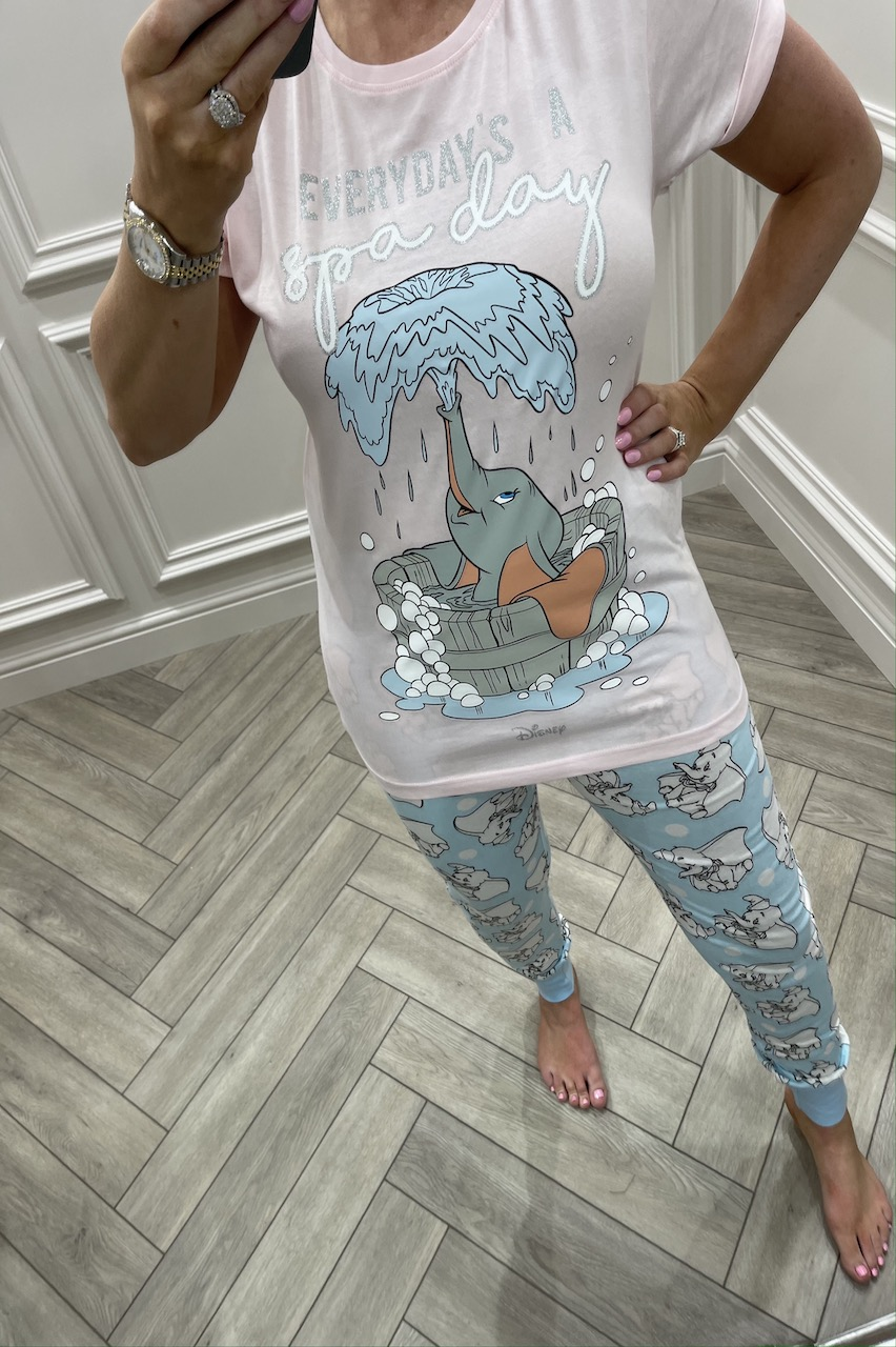 Dumbo 'Everyday's a Spa Day'  PJ'S
