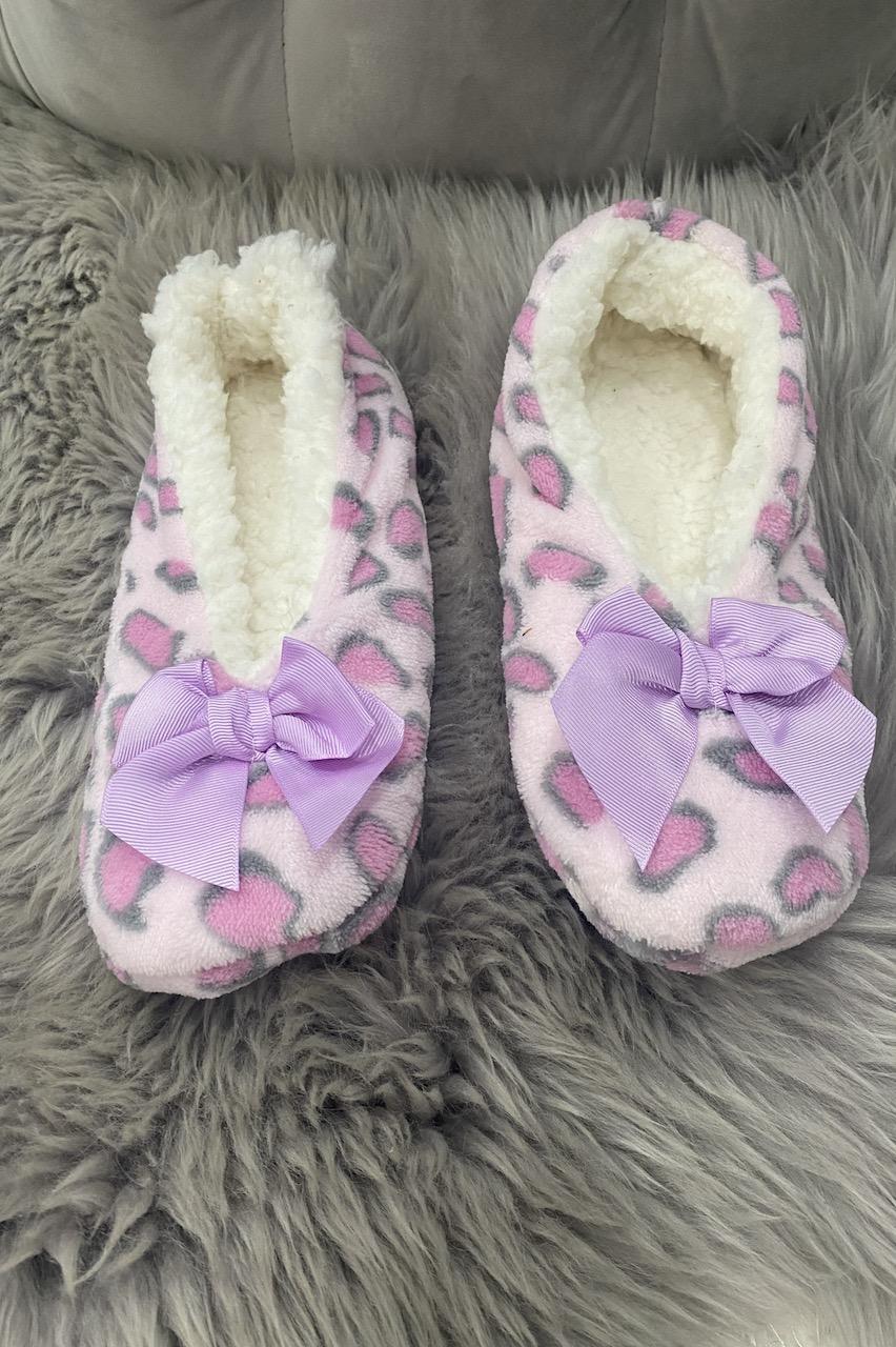 Pink Leopard Co-zees Slippers