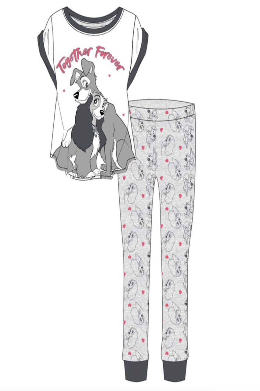 Ladies Lady  & The Tramp Together Forever  PJ'S