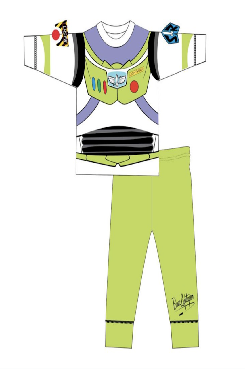 Boys Buzz Lightyear Children's  Pj'S
