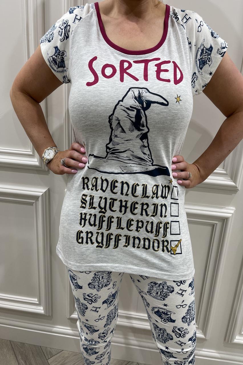 Ladies Harry Potter Sorted Pj's