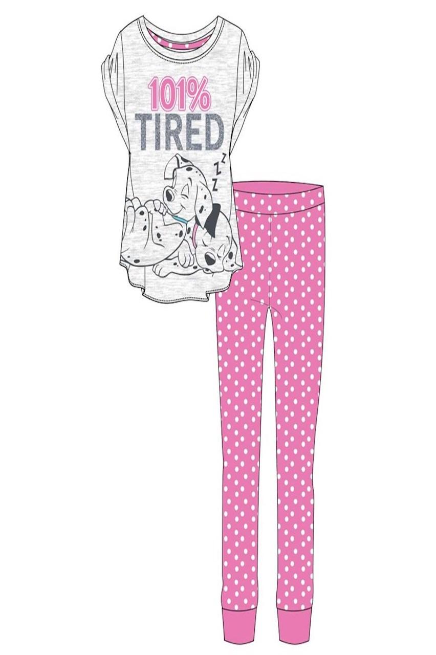 101% Tired Pink Dalmatian's Pj's