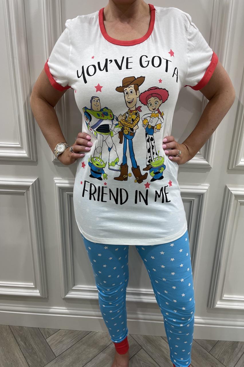 Ladies Buzz, Woody, Jessie You've Got A Friend In Me PJ'S