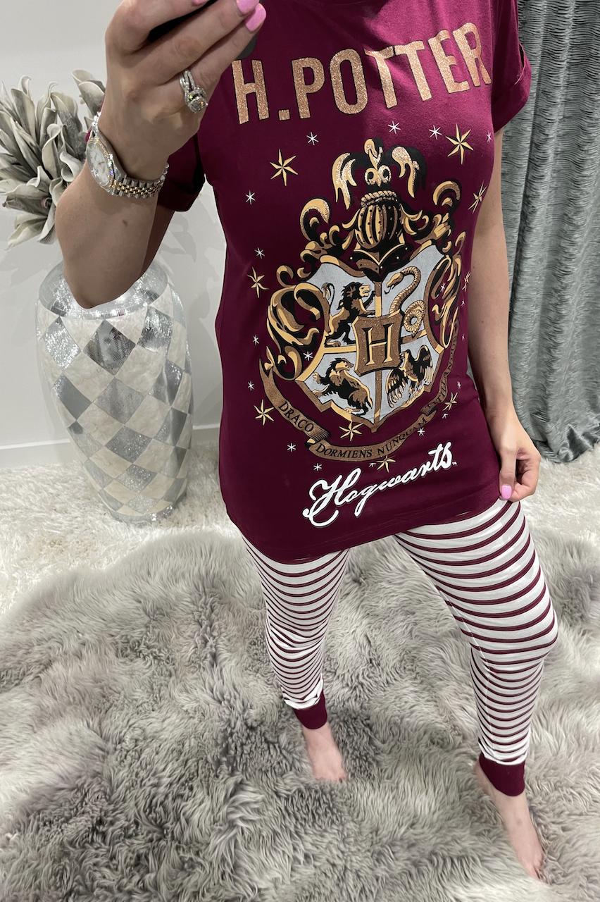 Ladies Wine Harry Potter Hogwarts PJ'S