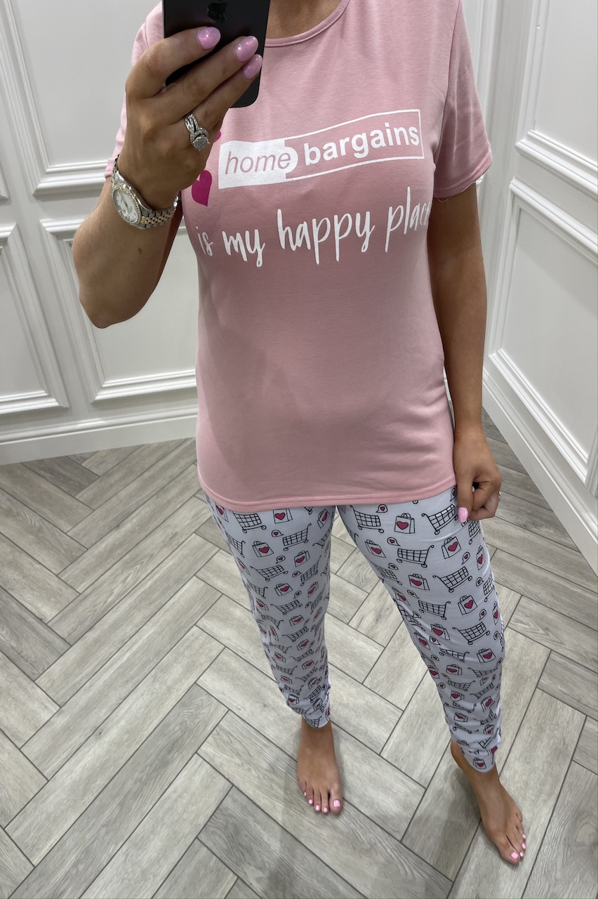 Home Bargains Is My Happy Place Pj's