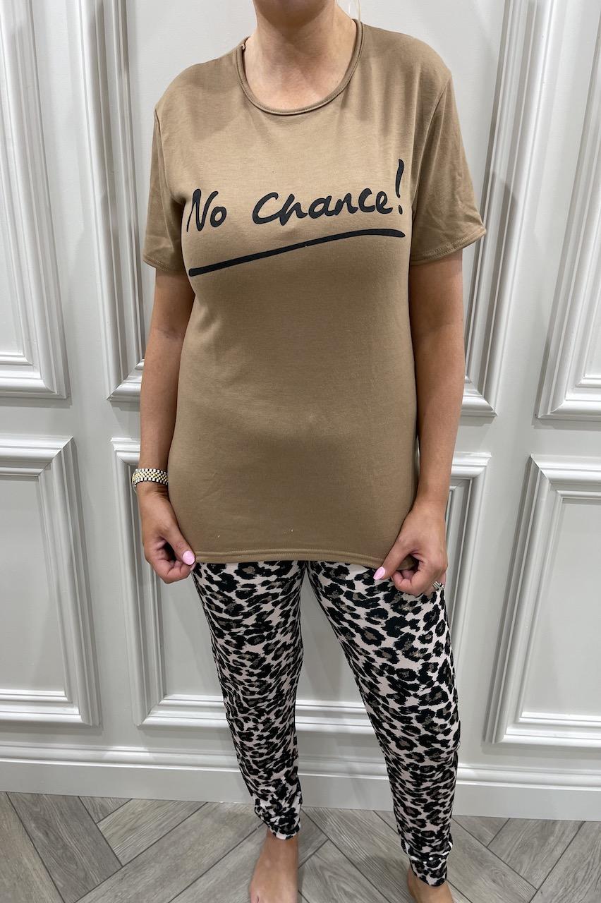 Leopard No Chance Pj's