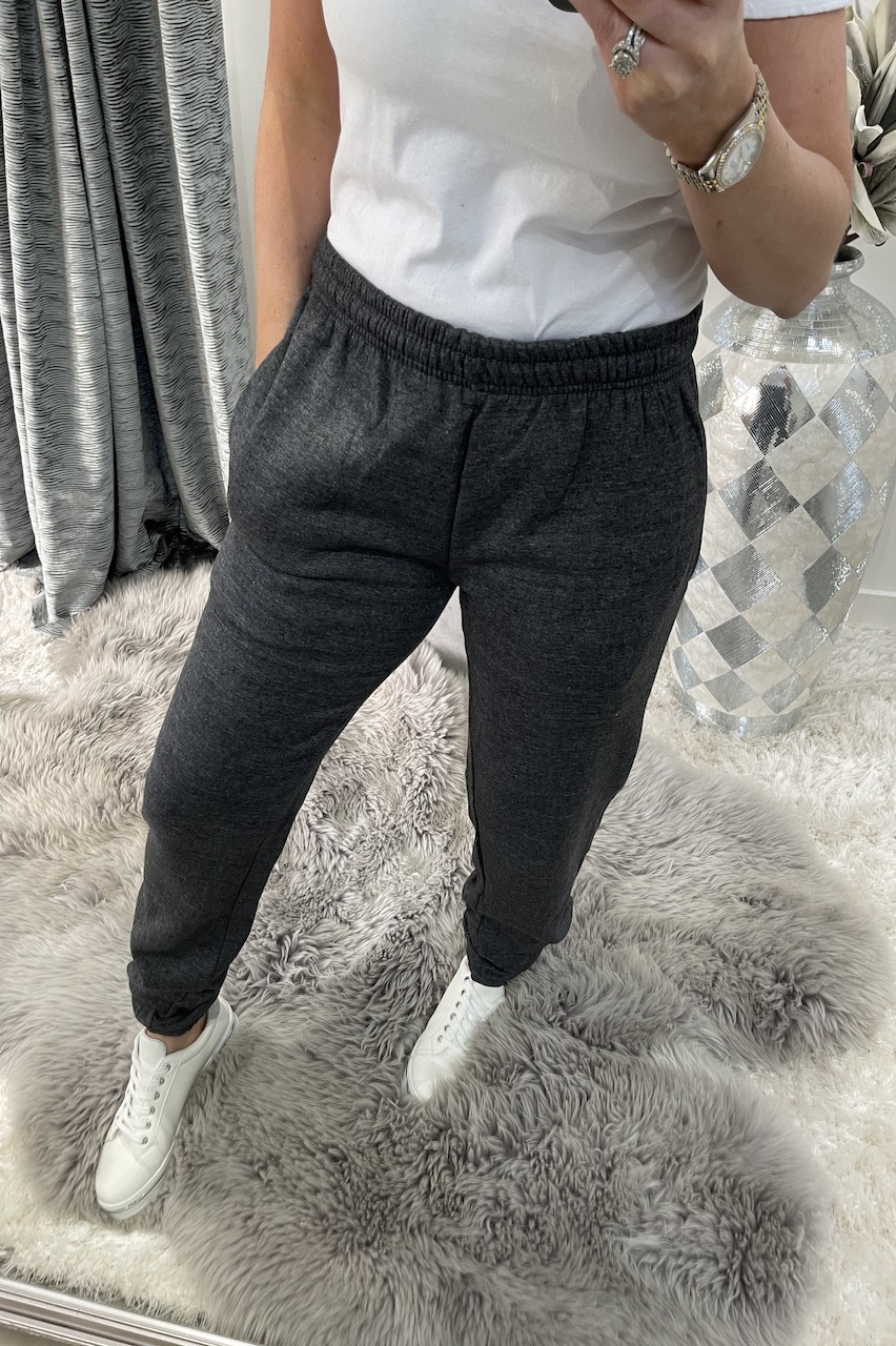 Charcoal Soft & Snuggly Joggers