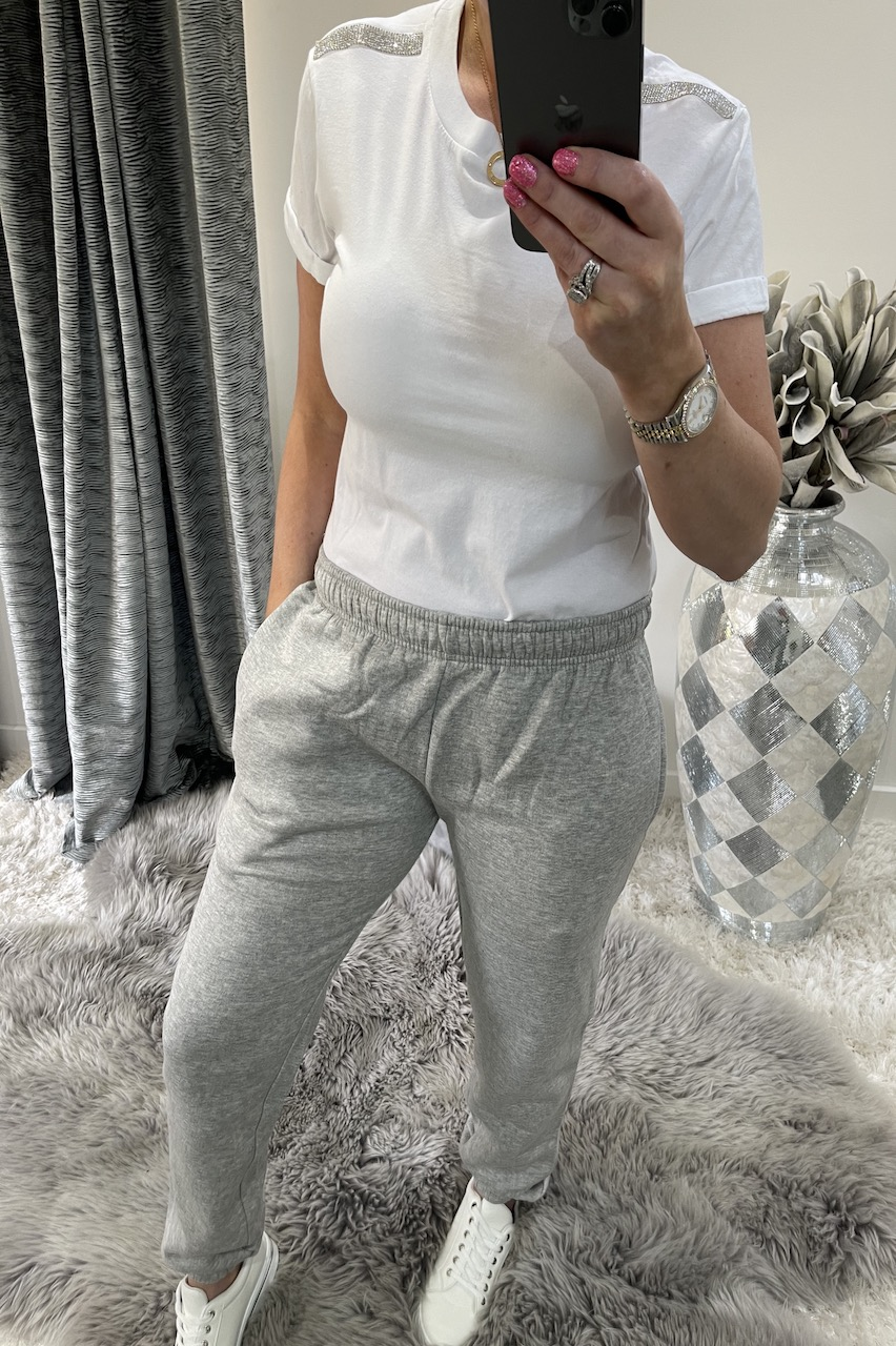 Grey Soft & Snuggly Joggers