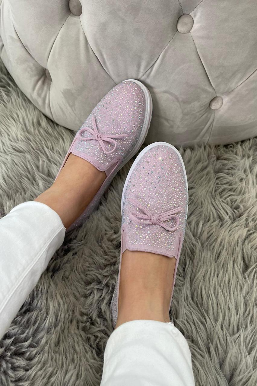 Felicia Lilac Loafers