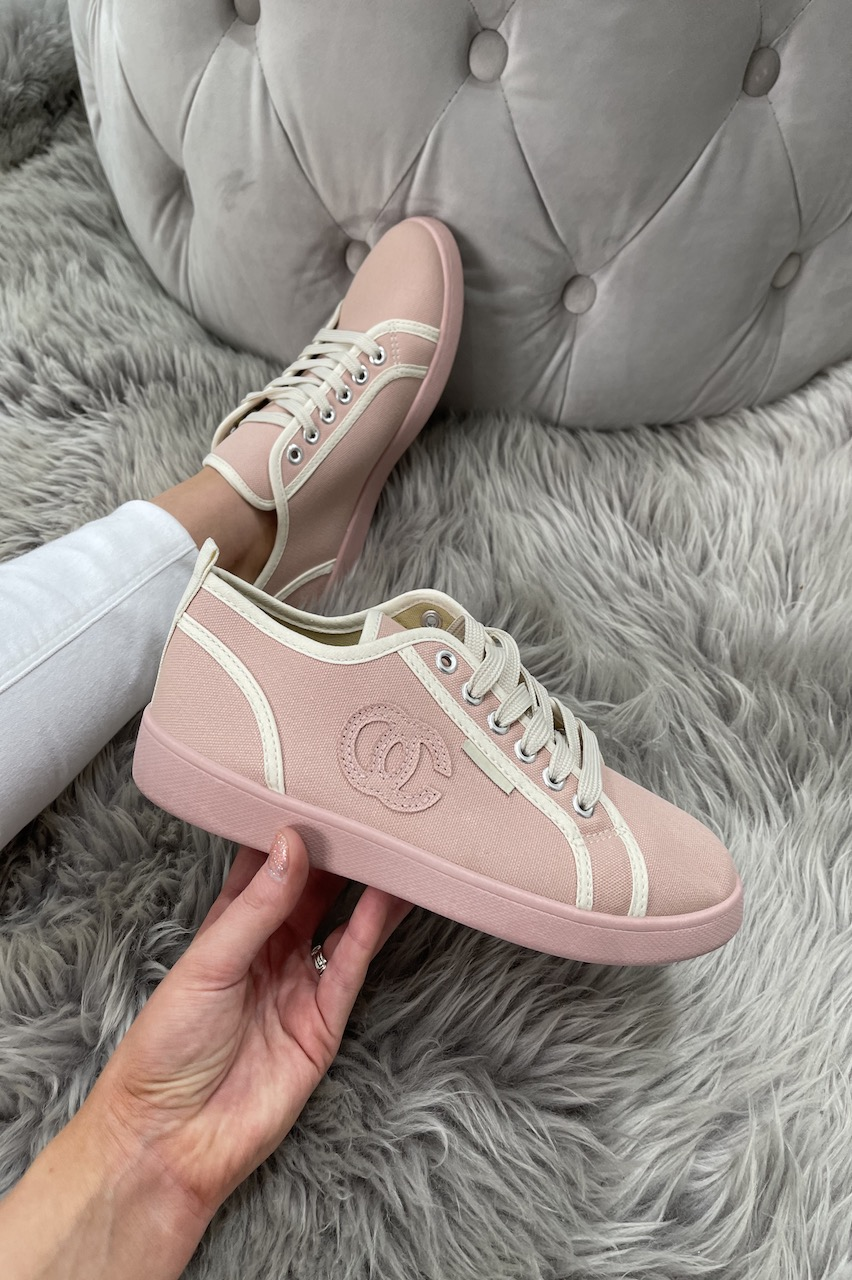 Pink & Cream Co Co Trainers