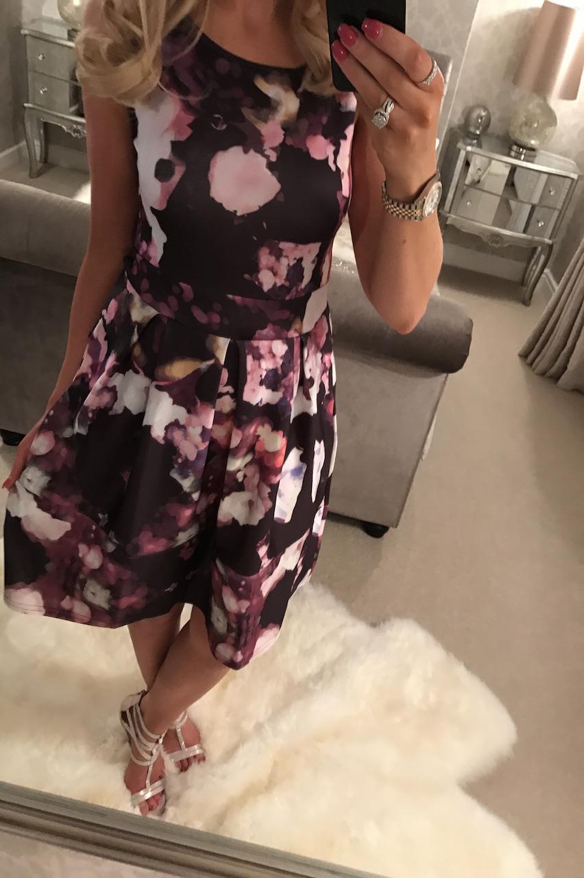 Millen Floral Skater Dress