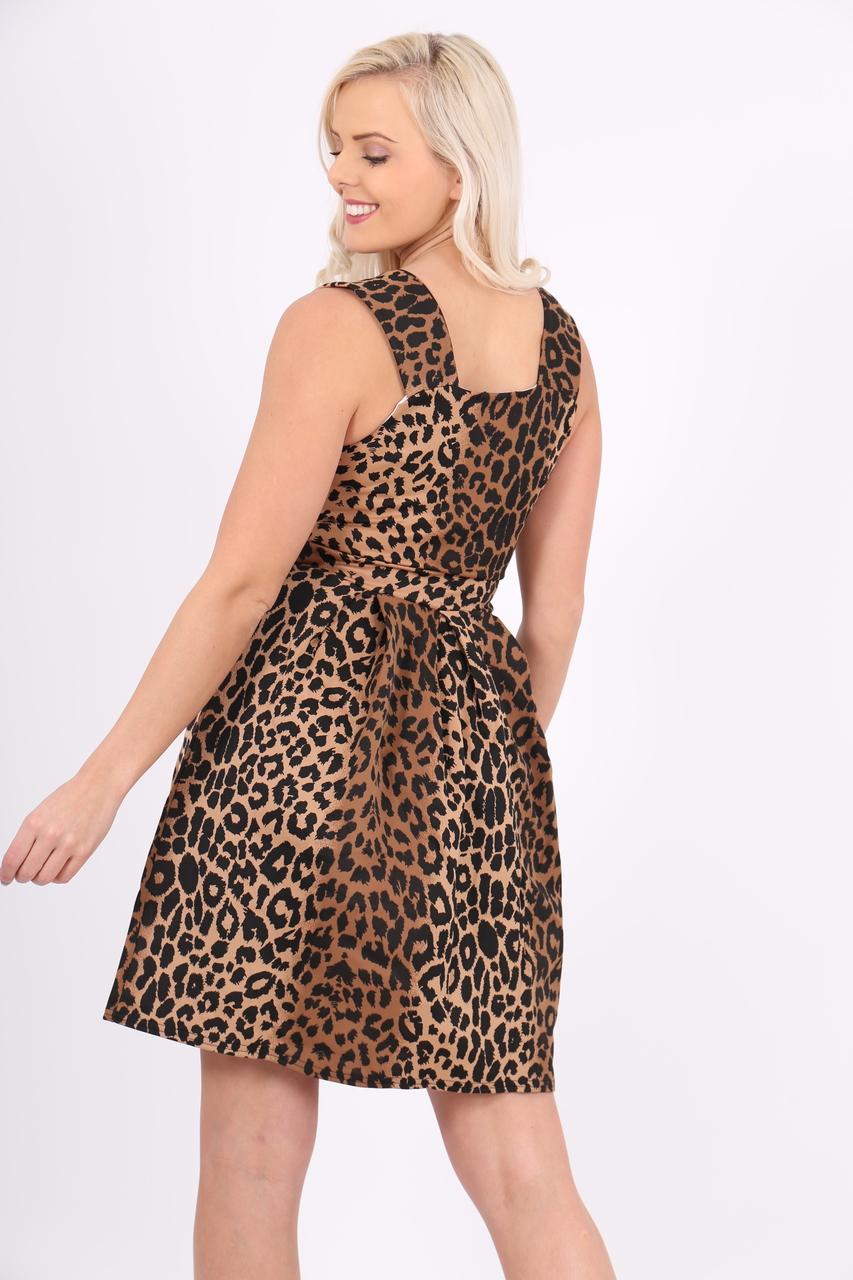 Lux Leopard Marilyn Skater