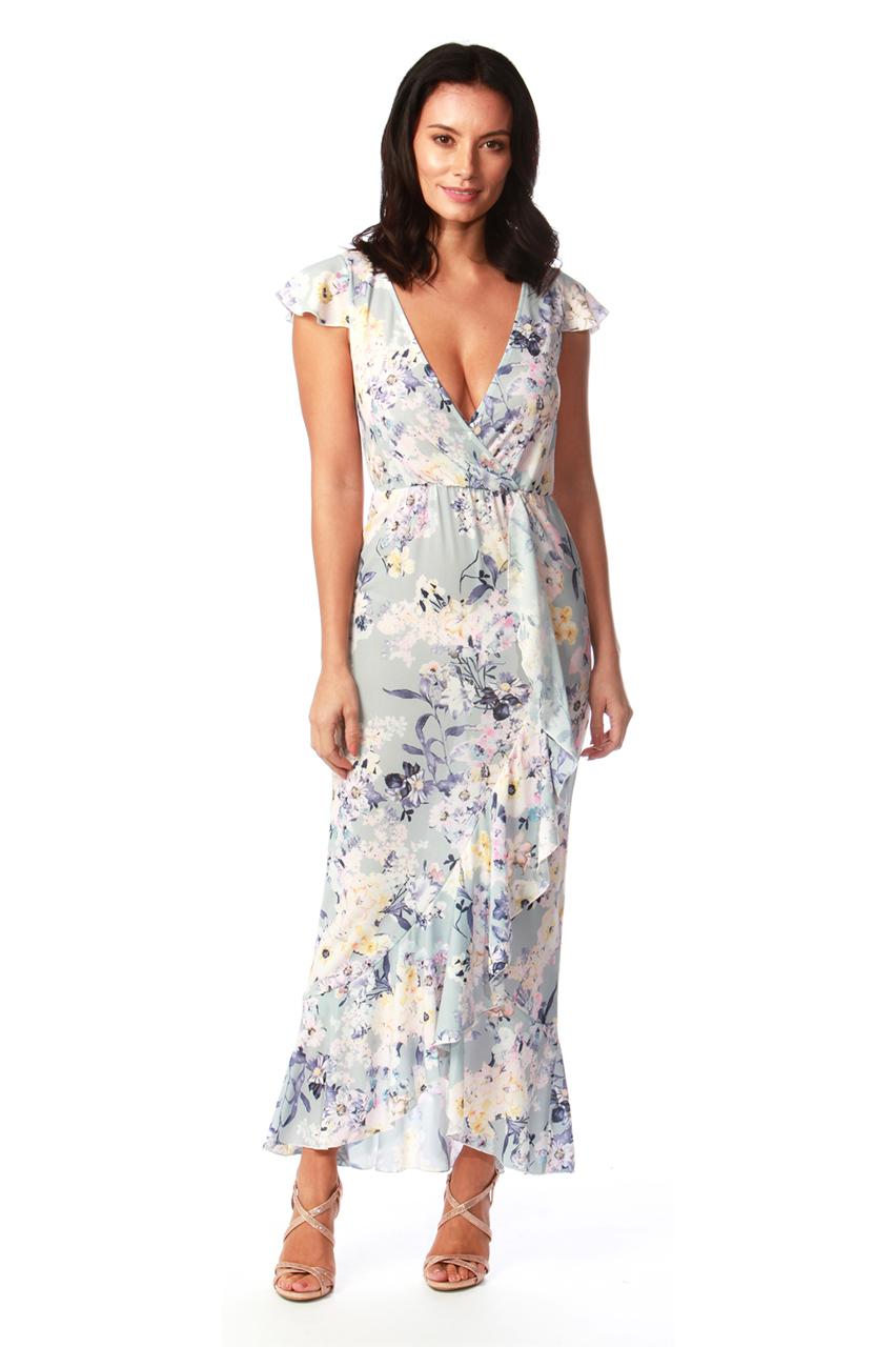 Margaux Floral Maxi Dress