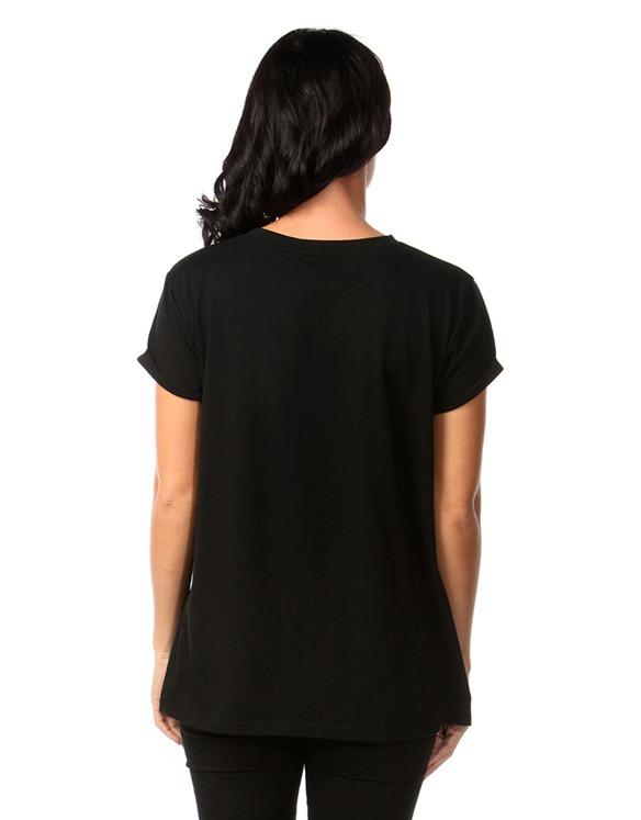 Maternity Black 'Future Mum Vibes' T-Shirt