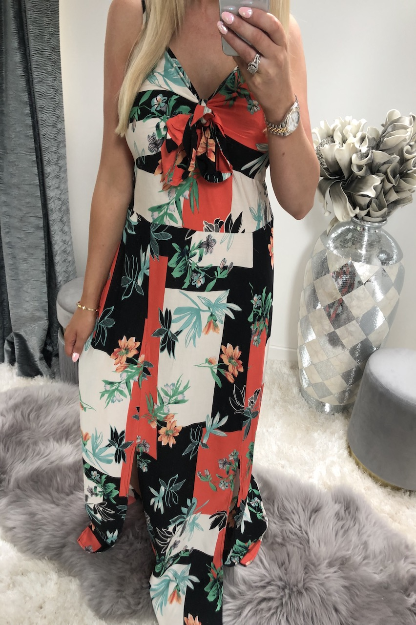 Black  Heatwave Maxi Dress