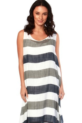 Carolina Maxi Stripe Dress