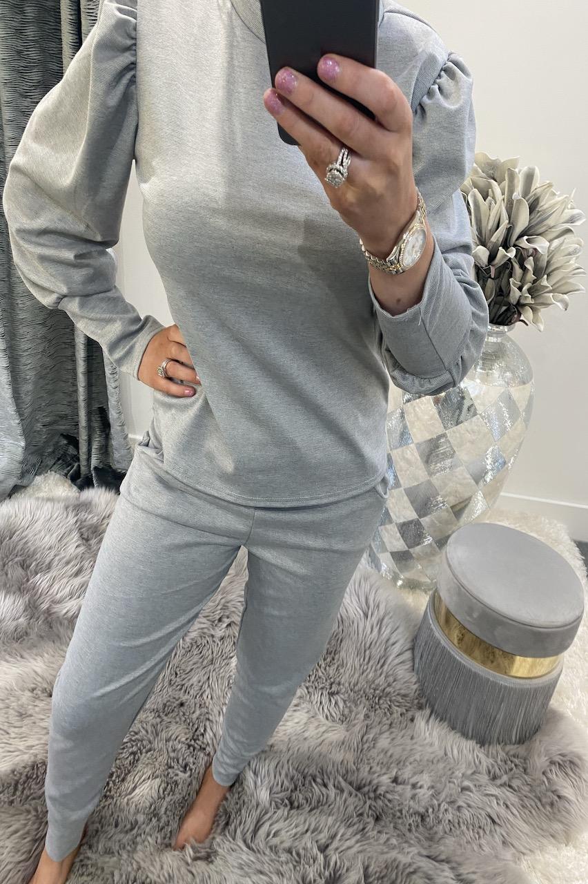 Grey  Marlo  Loungesuit