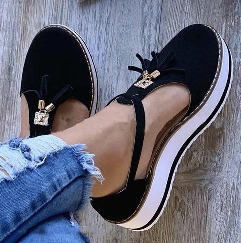 Chelsea Black Tassel Sandal