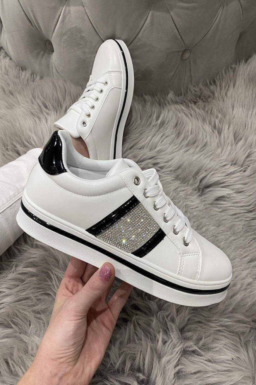 Fizette Black Diamond Trainers