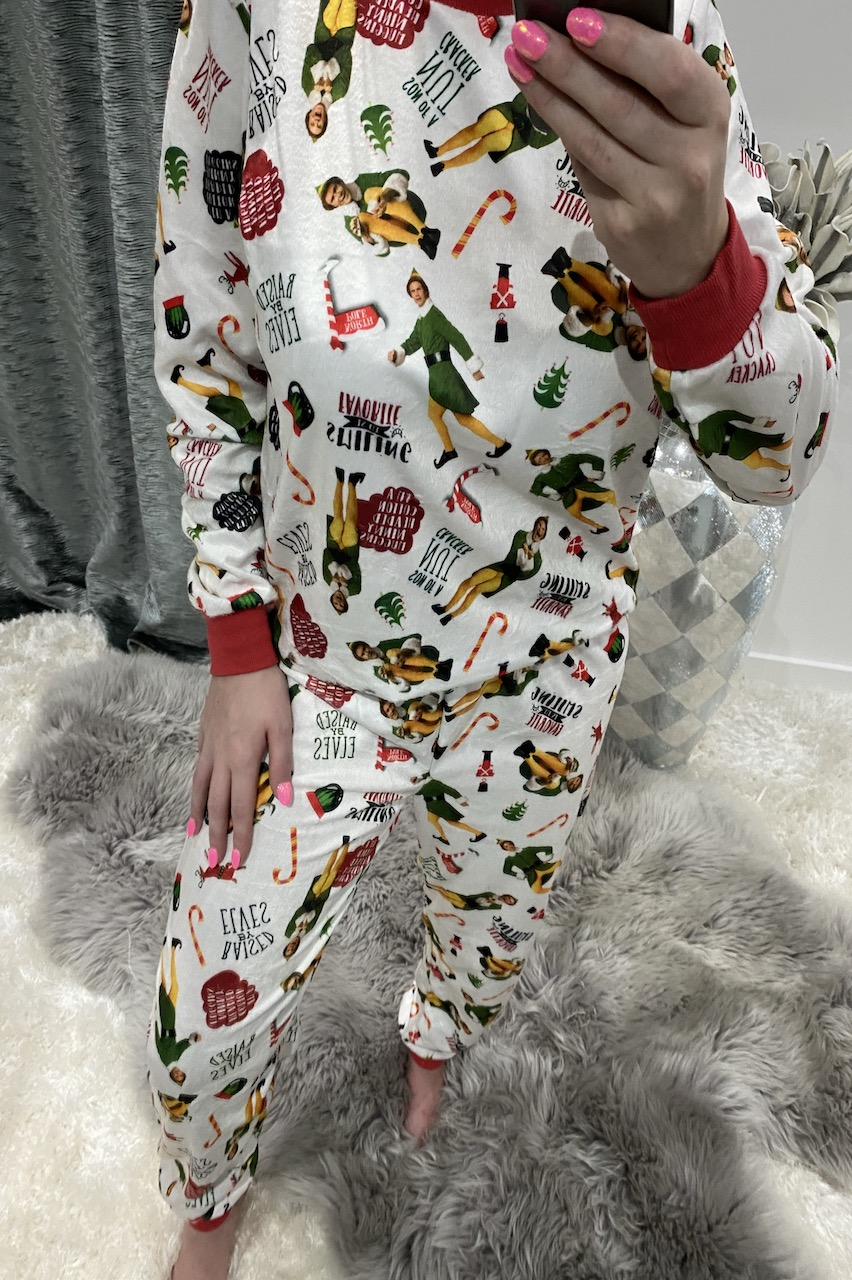 Buddy The Elf PJ's