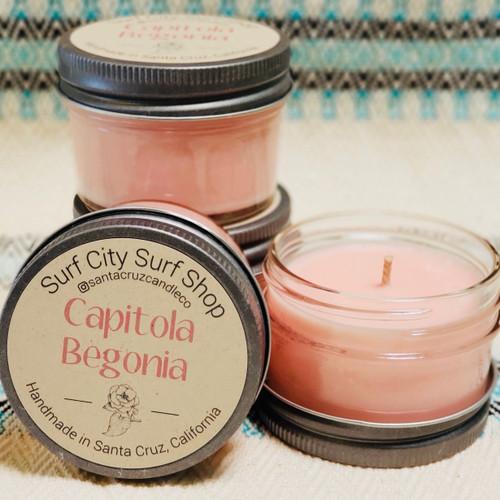 Capitola Begonia candle