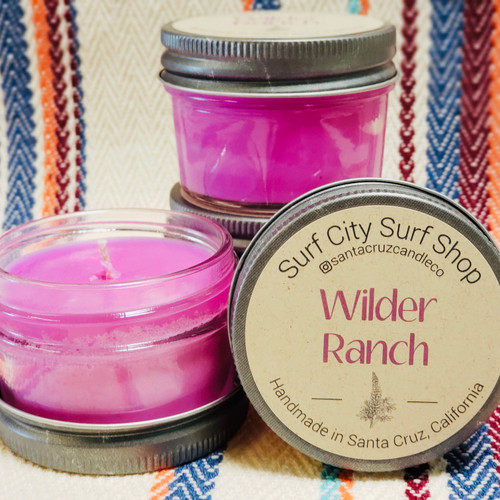 Wilder Ranch candle