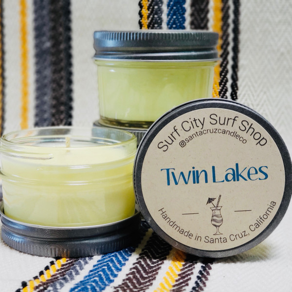Twin Lakes candle