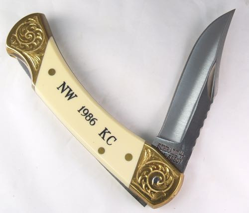 Schrade Lock Back Northwest Knife Collectors 1986 Club knife